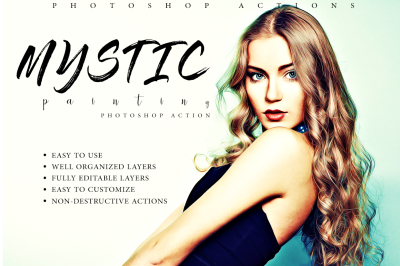 Mystic Painting Photoshop Action