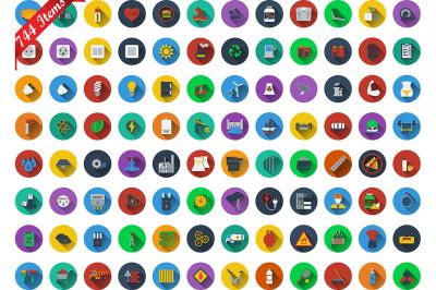 744 icons