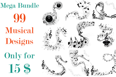 99 Musical Designs