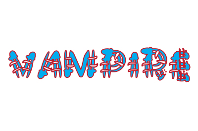 Vampire, a handwritten font