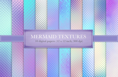 Mermaid textures