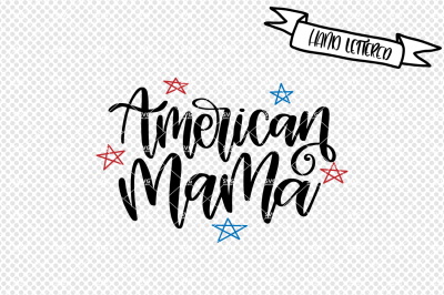 American mama svg, Fourth of July svg