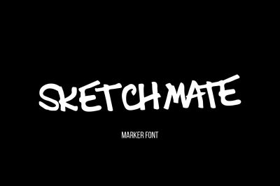 Sketchmate Typeface