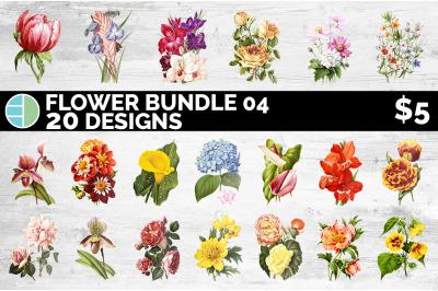 Flowers Clipart Bundle