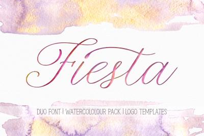 Fiesta. Duo Font + Bonuses.