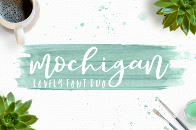 Mochigan Font Duo