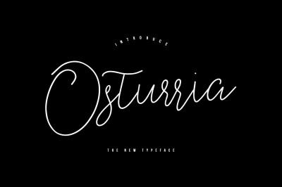 Osturria Typeface