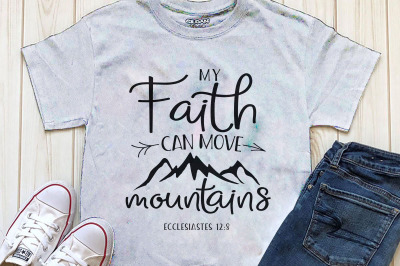 My faith can move mountains Printables