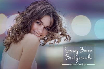 Spring Bokeh Backgrounds