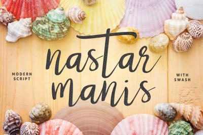 Nastar Script + Swash
