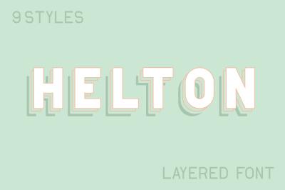 Helton Typeface