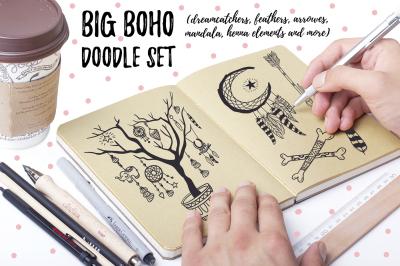BIG BOHO Doodle set