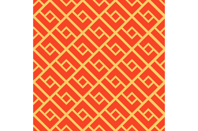 Abstract geometric seamless pattern. Chinese background.