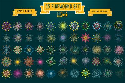 55 Fireworks