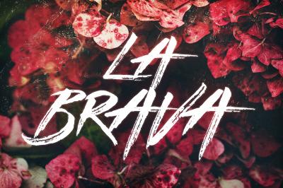 La Brava - Typeface