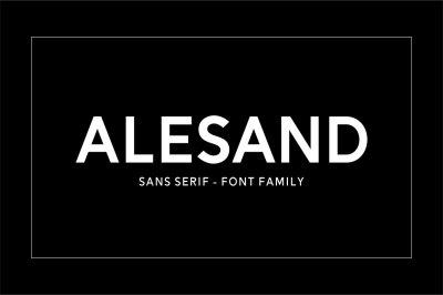Alesand (7 Fonts)