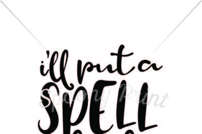 i'll put a spell on you printable