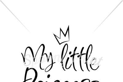 My little princess Printable