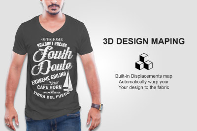 Download Free Folded T Shirt Mockup Yellowimages