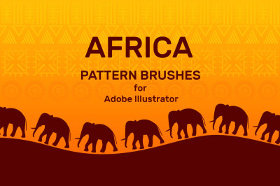 Pattern Brushes for Illustrator