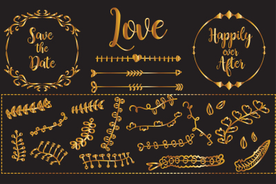 Golden Love Elements