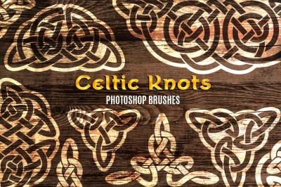 58 Celtic Knots Brushes