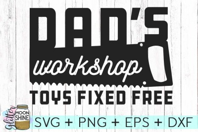 Dad's Workshop SVG DXF PNG EPS Cutting Files