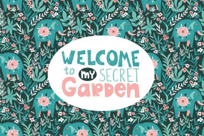 Secret garden collection #1