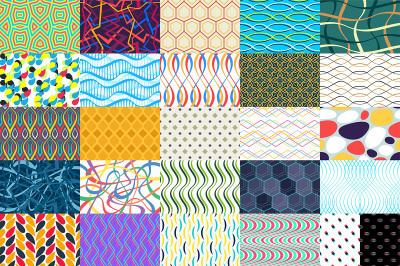 26 Colorful geometric pattern