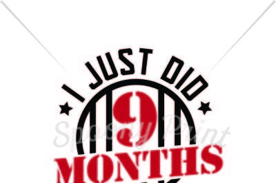 I just did 9 months finally out Printable