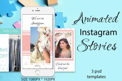 3 ANIMATED Instagram Stories
