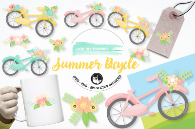Bicycle graphics and illustrations