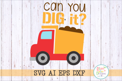 Can you dig it SVG DXF EP AI