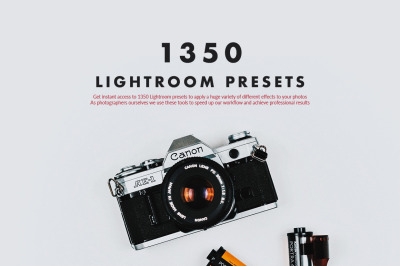 1350 Lightroom Presets