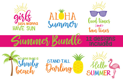 Big Summer Bundle SVG, Beach SVG, DXF File, Cuttable File