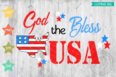 God Bless the USA svg, Stars and Stripes shirt,