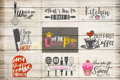 kitchen svg, VOL2, kitchen bundle, kitchen clipart, but first coffee,