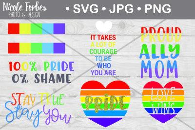 Pride SVG Bundle