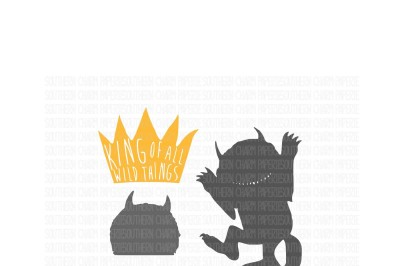 KING OF ALL WILD THINGS SVG