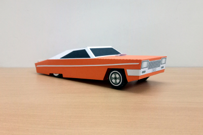 DIY Lowrider Car - 3d papercraft