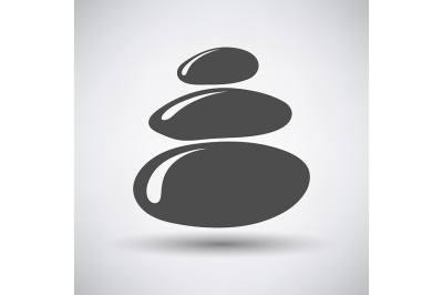 Stack of Spa Stones Icon