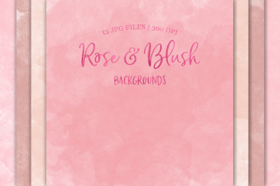 Rose & Blush Backgrounds