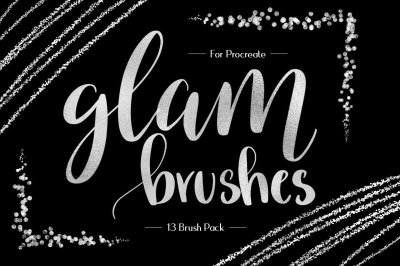 Foil & Glitter Procreate Brushes