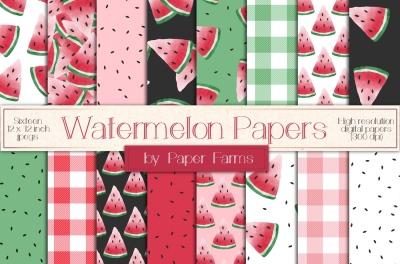 Watermelon patterns