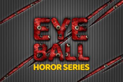 36 Eyeball Horor Style