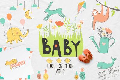 BABY logo creator vol2