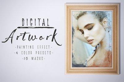 Digital Artwork - Creative Template