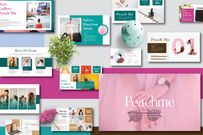 Peachme Creative Keynote Template
