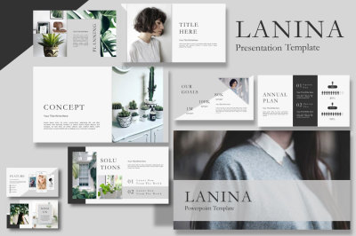 Lalina Presentation Template
