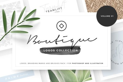 Boutique - Logos collection 01